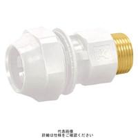 タブチ TBC ライトエアー オスアダプター 白 AIRWT25-M 1個 789-9530 (直送品)