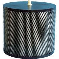 忍足研究所 OSHITARI 水用高性能フィルター OMFフィルタ Φ340×300 2個入 OMF-340FK 1箱(2個) 819-0001 (直送品)