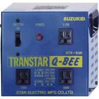 スター電器製造 SUZUKID トランスターQBEE STX-3QB 1台 818-6012 (直送品)