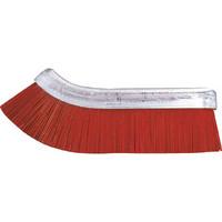 バーテック(BURRTEC) バーキュート衛生管理用ミゾッコブラシ スペア ハード 赤 61451101 1本 796-1511 (直送品)