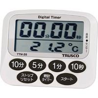 トラスコ中山(TRUSCO) 温度計付タイマー TTM-25 1個 781-3465 (直送品)