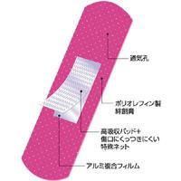 阿蘇製薬 ピンクバンテージ 19mm×72mm (200枚入) MCB-193 1箱(200枚) 783-9391 (直送品)