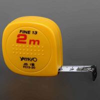 ヤマヨ測定機 コンベックス スタンダード ファイン13 13mm幅×2m FC13-20 1個 (取寄品)
