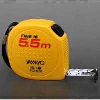 ヤマヨ測定機 コンベックス セーフティタイプ ファイン16 16mm幅×5.5m FC16-55 1個 (取寄品)