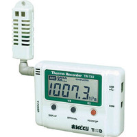ティアンドデイ(T&D) おんどとり 温度・湿度・大気圧データロガー TR-73U 1台 819-5884 (直送品)