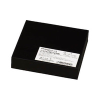 光(ヒカリ) ゴムブロック黒 20×100×100mm GR20-10 1枚 788-6284 (直送品)