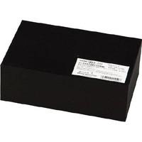 光(ヒカリ) ゴムブロック黒 50×100×150mm GR50-151 1枚 788-6306 (直送品)