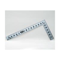 シンワ測定 曲尺平ぴた シルバー 表裏同目 呼寸 16cm 10007 1本 (取寄品)