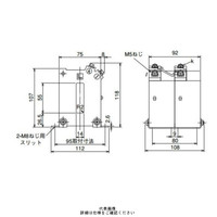 三菱電機(Mitsubishi Electric) 接続変換器 角窓貫通形 ダブルモールド形 1150V以下 CW-15LM 150/5A 1個 (直送品)