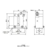 三菱電機(Mitsubishi Electric) 接続変換器 角窓貫通形 ダブルモールド形 1150V以下 CW-15LM 750/5A 1個 (直送品)