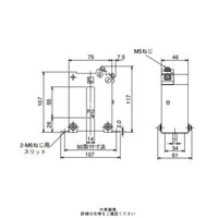 三菱電機(Mitsubishi Electric) 接続変換器 角窓貫通形 ダブルモールド形 1150V以下 CW-40LM 300/5A 1個 (直送品)