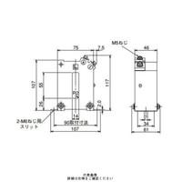 三菱電機(Mitsubishi Electric) 接続変換器 角窓貫通形 ダブルモールド形 1150V以下 CW-40LM 400/5A 1個 (直送品)