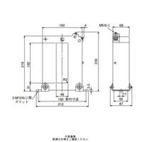 三菱電機(Mitsubishi Electric) 接続変換器 角窓貫通形 ダブルモールド形 1150V以下 CW-40LM 4000/5A (直送品)