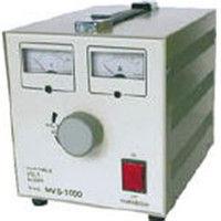 山菱電機 ボルトスライダー据置型(出力電圧計・電流計付き) MVS-1000 MVS1000 1台 (直送品)