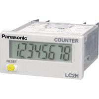 パナソニック(Panasonic) Panasonic トータル電子カウンタ LC2H-F-2KK パネル取付 AEL3420 836-4934 (直送品)