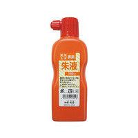 祥碩堂 建築用墨汁 朱 180mL S14304 1個 3-7209-03 (直送品)