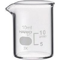 HARIO(ハリオ) HARIO ビーカー 目安目盛付 10ml B-10-SCI 1個 855-7560 (直送品)