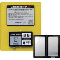 DESCO(デスコ) DESCO コンボテスター X3 左右分離確認 計測台付き 19278 1台 829-2381 (直送品)
