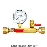アックスブレーン AX 水圧テストゲージ20(金門型) TG20-14 1本(1個) (直送品)