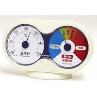 熱中症注意計(温度計+熱中症注意目安) TM-9781 2個 エンペックス (直送品)