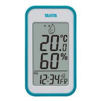 タニタ デジタル温湿度計 青 TT559BL 1個(わけあり品)