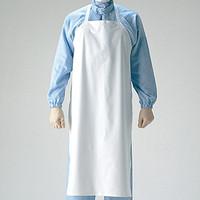 ミドリ安全 前掛 耐薬品静電性胸付き前掛け  1枚(直送品)