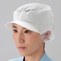 ミドリ安全 ツバ付エレクトレット帽メッシュ付 EL-401 L 20枚入 1セット(20枚入)(直送品)