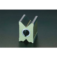 esco(エスコ) 6/70mm/100mmVブロック(マグネット) EA719D-2 1個 (直送品)