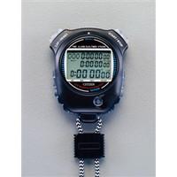 esco(エスコ) 1/100秒 ストップウォッチ(スプリットタイム計付) EA798C-30 1個 (直送品)