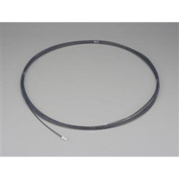 esco(エスコ) 4.0/6.0mmx10mフッ素樹脂チューブ(導電性) EA125FE-6 1本 (直送品)