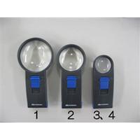 esco(エスコ) x4/70mmハンドルーペ(LEDライト付) EA756DM-1 1個 (直送品)