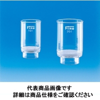 東京硝子器械 Fineガラスろ過器 るつぼ型 2G1 000ー09ー41ー09 1個 (直送品)