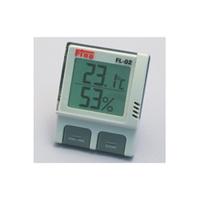 東京硝子器械 デジタル温湿度計 FLー02  219-70-24-98 1台 (直送品)
