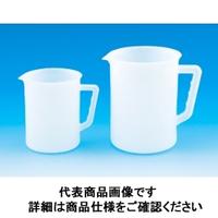 東京硝子器械 Fine手付ビーカー 2L PE 416ー01ー13ー03 1個 (直送品)