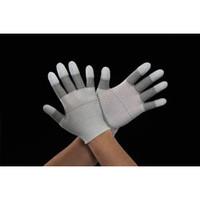 esco(エスコ) [M/205mm]手袋(銀メッキナイロン・指先ウレタンコート) EA354AD-67 1セット(6双) (直送品)