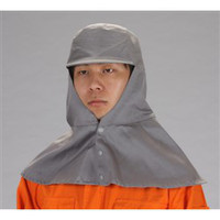 esco(エスコ) [L]溶接用帽子(丸) EA370CB-2 1セット(2枚) (直送品)