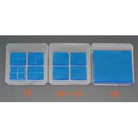 esco(エスコ) 100x100x5mm耐震ベース(角/1枚) EA979D-19 1セット(2枚:1枚×2パック) (直送品)
