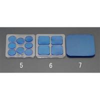esco(エスコ) 40x40x5mm耐震ベース(角/4枚) EA979D-6 1セット(16枚:4枚×4パック) (直送品)