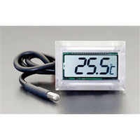 esco(エスコ) ー40℃/110℃組込み型温度計(防水型) EA728EF-3 1セット(2個) (直送品)