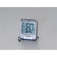 esco(エスコ) デジタル温度・湿度計 EA742GA-1A 1セット(2個) (直送品)