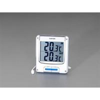 esco(エスコ) [室内・室外]最高・最低温度計 EA728AC-25 1セット(2個) (直送品)