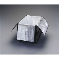 esco(エスコ) 595x400x300mm保冷インナーボックス(75Lオリコン用) EA506AA-275 1セット(2個) (直送品)