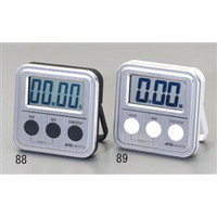 esco(エスコ) 79x79x18mmタイマー(デジタル) EA798C-89 1セット(5個) (直送品)