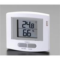 esco(エスコ) 最高・最低温度・湿度計 EA742GA-2 1セット(2個) (直送品)