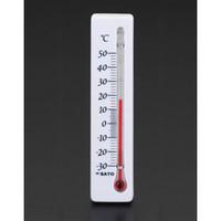 esco(エスコ) 106mm冷蔵庫用温度計[マグネット付] EA722CB-16 1セット(12個) (直送品)