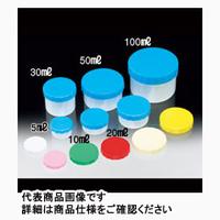 サンプラテック ニュープラツボ 青キャップ 未滅菌5mL 25078 100個 (直送品)