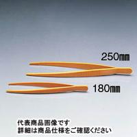 サンプラテック プラスチック ピンセット 250mm  06626 1本 (直送品)