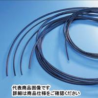 サンプラテック 帯電防止PFAーASチューブ 10m 4.35φ×6.35φ×1mm 21228 1巻 (直送品)