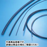 サンプラテック 帯電防止PFAーNEチューブ 10m 22φ×25φ×1.5 18508 1巻 (直送品)