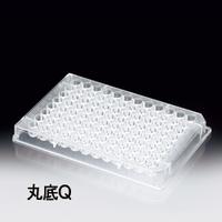 サンプラテック 96穴プレート 丸底Q 滅菌無 5枚×10袋  05440 1組 (直送品)